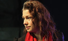 Sarah Champion at the Rotherham byelection count
