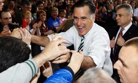 Mitt Romney in Des Moines on Sunday