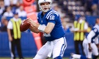 Indianapolis Colts quarterback Andrew Luck looks to throw the during his team's win over the Miami Dolphins.