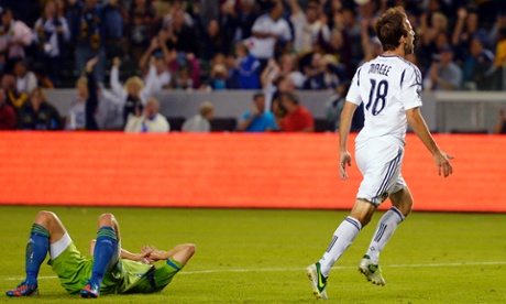 Mike Magee LA Galaxy