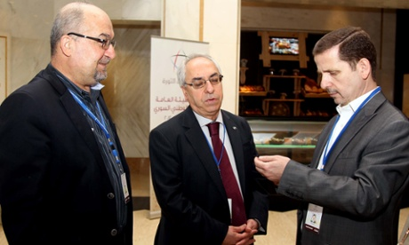SNC Abdulbasit Sieda Syria at Doha meeting