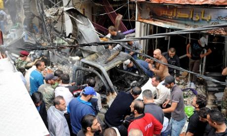 Car bomb, Mezzeh, Damascus, Syria