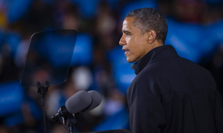 Barack Obama in Virginia