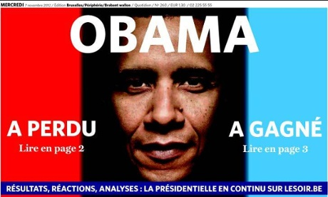 Le Soir, 7 November 2012