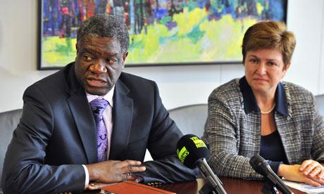 Congolese gynaecologist Denis Mukwege