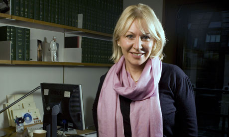 Nadine Dorries at her office at Portcullis House in Westminster, London, Britain - 13 Dec 2011