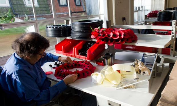 The Poppy Factory has been one of the official manufacturers of the poppy since 1922 and has made 12 million poppies and 107,000 wreaths in 2012 alone.