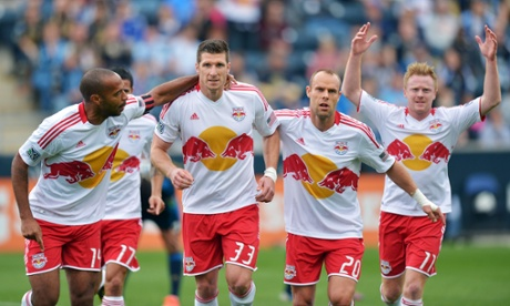Thierry Henry Kenny Cooper Joel Lindpere Dax McCarty New York Red Bulls