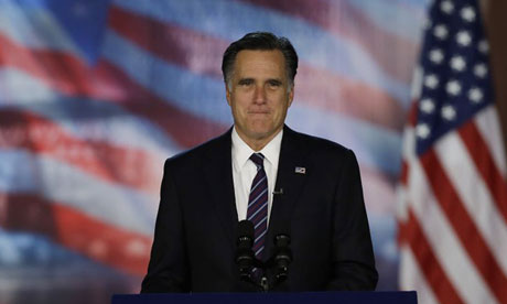 Mitt Romney thanks wealthy donors as Republican strategists search for blame