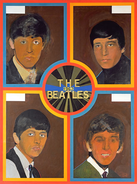Beatles poster by Peter Blake