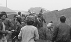 The miners' strike, Easington colliery, 28 August 1984