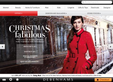 Debenhams for iPad