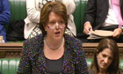 Culture secretary Maria Miller delivers a statement to the Commons on gay marriage proposals