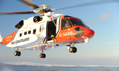 Maritime and Coastguard Agency helicopter
