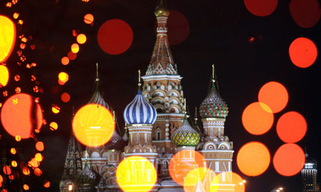 St Basil's Cathedral in Moscow's Red Square