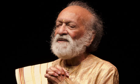 Ravi Shankar at 90 concert at the Barbican Centre