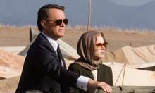 Tom Hanks and Julia Roberts in Charlie Wilson's War (2008)
