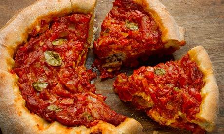 Deep Dish Pizza Pie Recipe Deep-pan Pizza Pies   Life