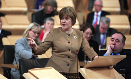 scotland independence eu sturgeon