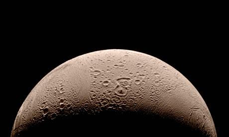 northern pole of moon