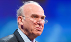 British Business Secretary Vince Cable a