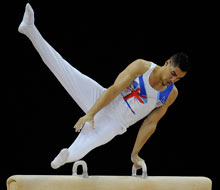 Olympic gymnastics qualifying