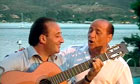 Berlusconi sings with Mariano Apicella