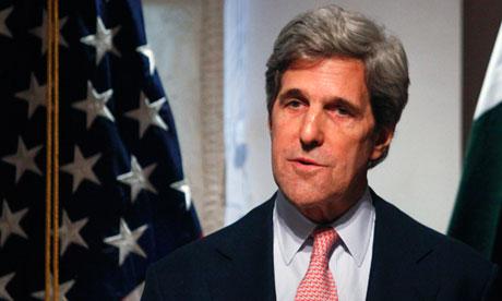 Massachusetts senator John Kerry