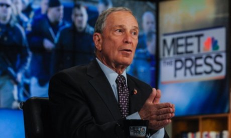 New York City Mayor Michael Bloomberg calls for tough new gun laws