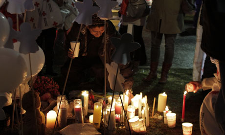 Memorial held in aftermath of Newtown shooting