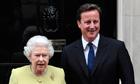 Queen and David Cameron
