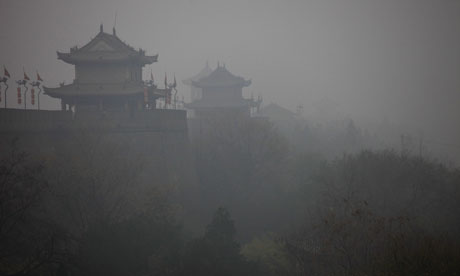 Coal-fuelled pollution in China