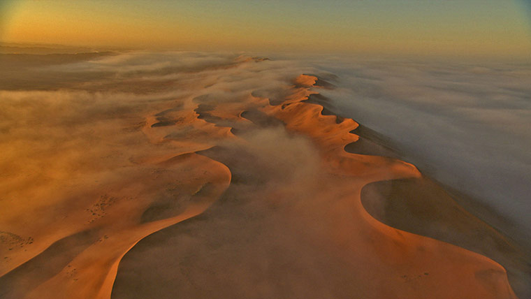 BBC Africa : Sand dunes of the Kalahari