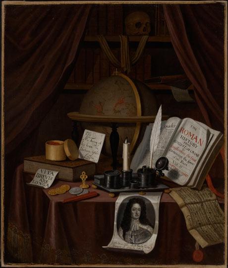 Edward Collier Vanitas 460 x 541