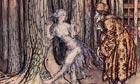 Grimm's Fairy Tale illustartion for Fitcher's Bird