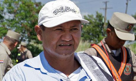 Paraguayan peasant leader shot dead