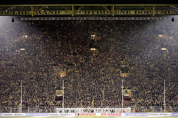 Borussia Dortmund: The Yellow Wall
