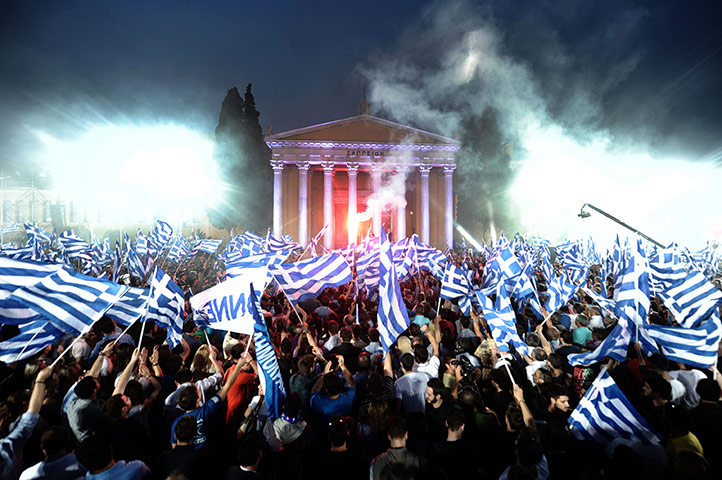 Pics of the Year 2012: Athens flag day by Aris Messinis