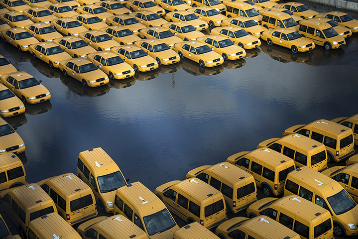 Pics of the Year 2012: Floods in Hoboken by Brendan Smialowski