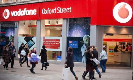 Vodaphone shop