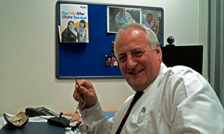 Chris Clark is UK services director of the Stroke Association