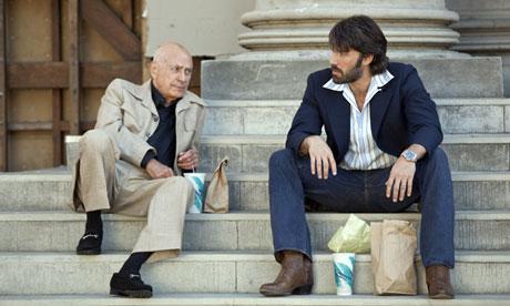Alan Arkin and actor-director Ben Affleck in Argo