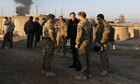 David Cameron visits Afghanistan