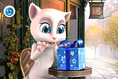 talking angela chats up a storm talking angela free