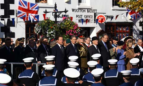 The Unveiling Ceremony To Celebrate Royal Wootton Bassett