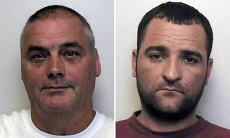 David Harrison (left) and Darryl Dickens were jailed for the 2010 murder of Richard Deakin
