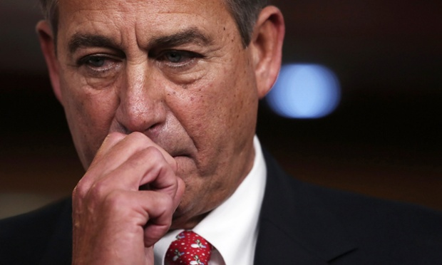 Speaker of the House John Boehner during a press conference