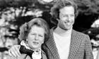 Margaret and Mark Thatcher