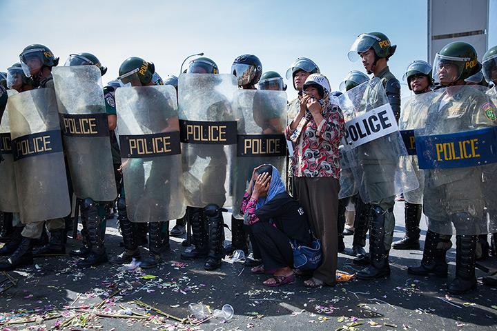 图说24小时:第二届柬埔寨土地权利活动家宝霞判处有期徒刑三年