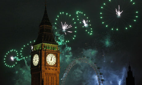 New Years Eve Is Celebrated In London